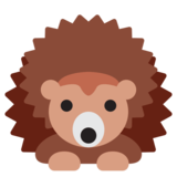 Hedgehog on Twitter Twemoji 2.5