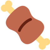Meat on Bone on Twitter Twemoji 2.5