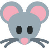 Mouse Face on Twitter Twemoji 2.5