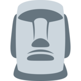 Moai on Twitter Twemoji 2.5