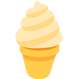 Soft Ice Cream on Twitter Twemoji 2.5