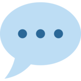 Speech Balloon on Twitter Twemoji 2.5