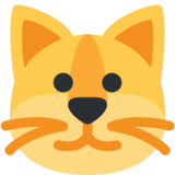 Cat Face on Twitter Twemoji 2.6