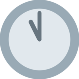 Eleven O'Clock on Twitter Twemoji 2.6