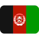 Flag: Afghanistan on Twitter Twemoji 2.6
