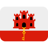 Flag: Gibraltar on Twitter Twemoji 2.6