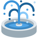 Fountain on Twitter Twemoji 2.6