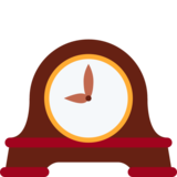 Mantelpiece Clock on Twitter Twemoji 2.6