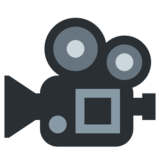 Movie Camera on Twitter Twemoji 2.6