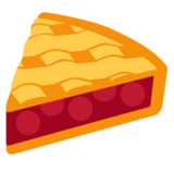 Pie on Twitter Twemoji 2.6