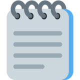 Spiral Notepad on Twitter Twemoji 2.6