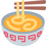 Steaming Bowl on Twitter Twemoji 2.6
