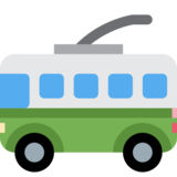 Trolleybus on Twitter Twemoji 2.6