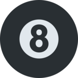 Pool 8 Ball on Twitter Twemoji 2.7