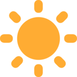 Sun on Twitter Twemoji 2.7