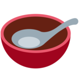 Bowl with Spoon on Twitter Twemoji 2.7