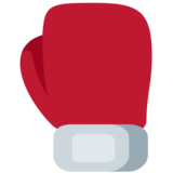 Boxing Glove on Twitter Twemoji 2.7
