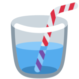 Cup with Straw on Twitter Twemoji 2.7