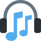 Headphone on Twitter Twemoji 2.7
