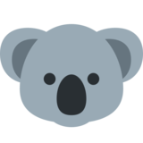 Koala on Twitter Twemoji 2.7