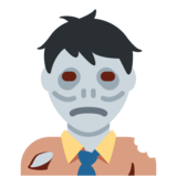 Man Zombie on Twitter Twemoji 2.7