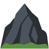 Mountain on Twitter Twemoji 2.7