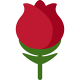 Rose on Twitter Twemoji 2.7