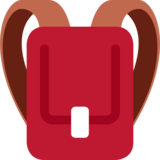 Backpack on Twitter Twemoji 2.7