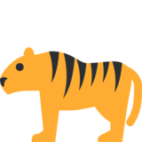 Tiger on Twitter Twemoji 2.7