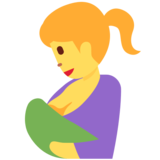 Breast-Feeding on Twitter Twemoji 11.0