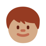 Child: Medium Skin Tone on Twitter Twemoji 11.0