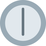 Six O'Clock on Twitter Twemoji 11.0