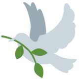 Dove on Twitter Twemoji 11.0