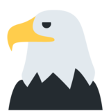 Eagle on Twitter Twemoji 11.0