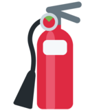 Fire Extinguisher on Twitter Twemoji 11.0