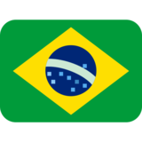 Flag: Brazil on Twitter Twemoji 11.0