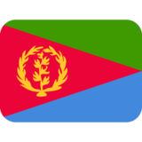 Flag: Eritrea on Twitter Twemoji 11.0