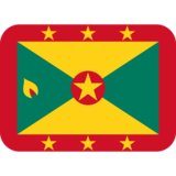 Flag: Grenada on Twitter Twemoji 11.0
