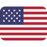 Flag: United States on Twitter Twemoji 11.0