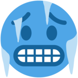 Cold Face on Twitter Twemoji 11.0