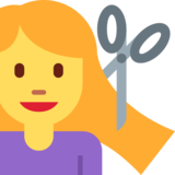 Person Getting Haircut on Twitter Twemoji 11.0