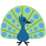 Peacock on Twitter Twemoji 11.0