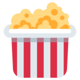 Popcorn on Twitter Twemoji 11.0