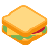 Sandwich on Twitter Twemoji 11.0