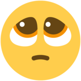 Pleading Face on Twitter Twemoji 11.1