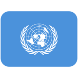 Flag: United Nations on Twitter Twemoji 11.1