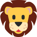 Lion Face on Twitter Twemoji 11.1