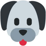 Dog Face on Twitter Twemoji 11.2