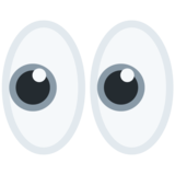 Eyes on Twitter Twemoji 11.2