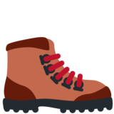 Hiking Boot on Twitter Twemoji 11.2